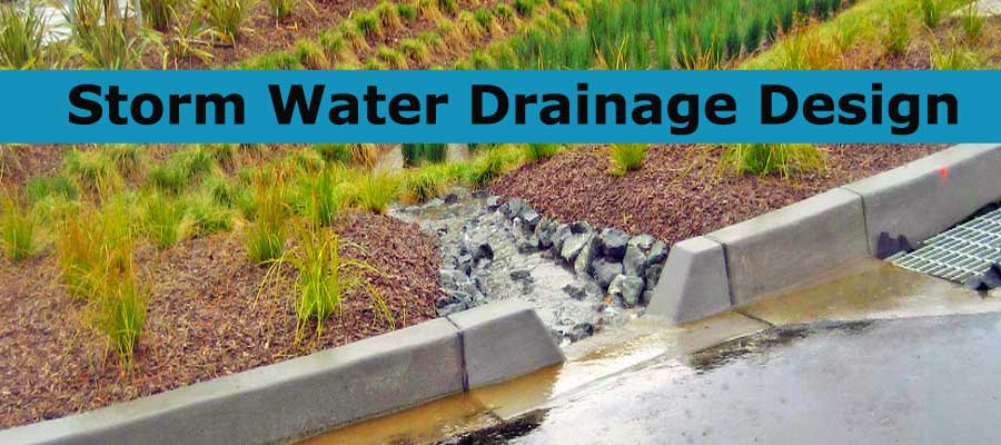 Storm Water Drainage Design